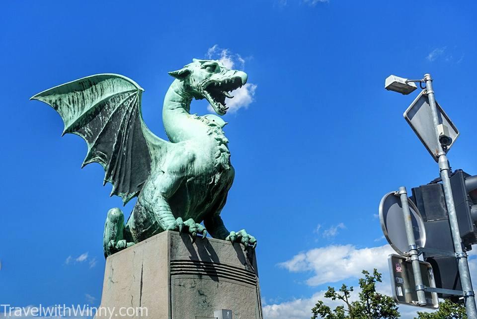 ljubljana 盧比安納 dragon 龍