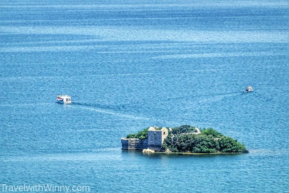 Island on Skadar Lake