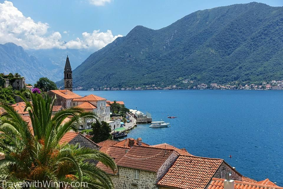 Perast, bay of Kotor, Montenegro