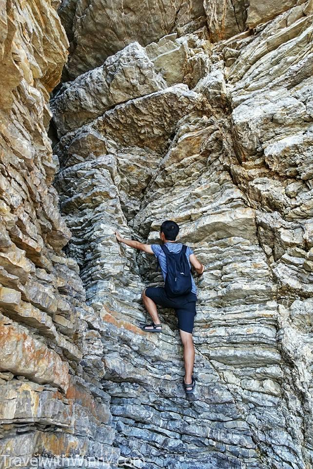 rock climbing 攀岩