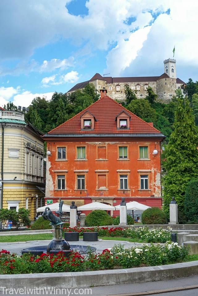 盧比安納城堡 Ljubljana Castle