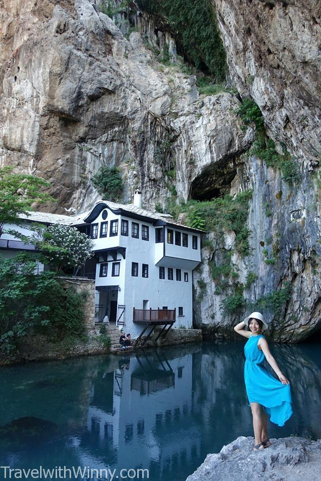 Blagaj Tekke 波士尼亞 bosnia 修道院