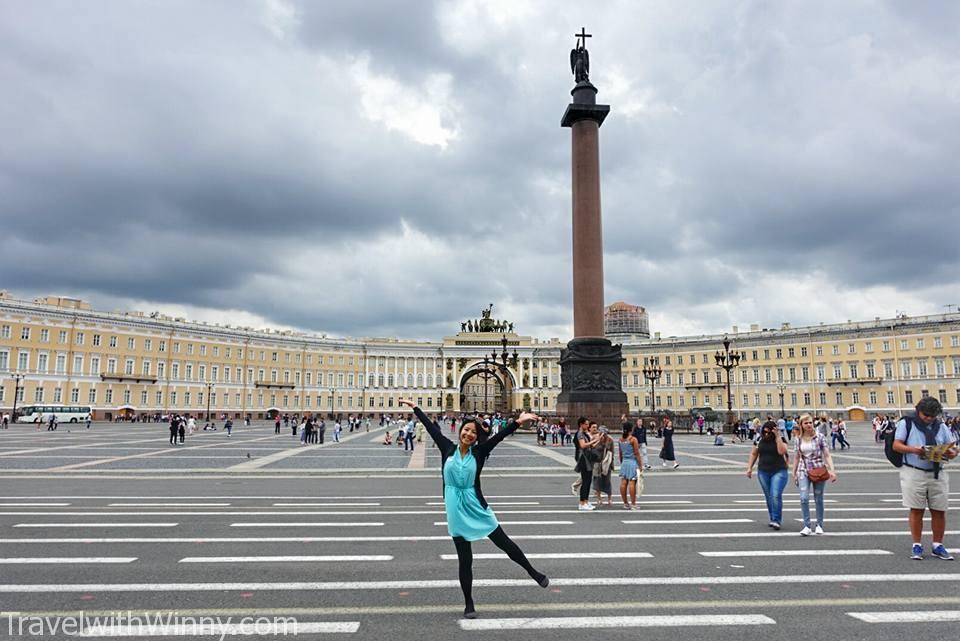 Palace Square 冬宮廣場