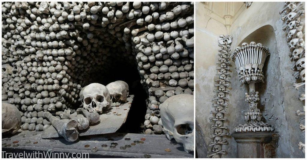 人骨教堂 Sedlec Ossuary Bone church