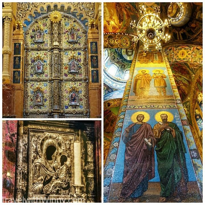 Church of the Savior on Spilled Blood 喋血大教堂 聖彼得堡 St Petersburg