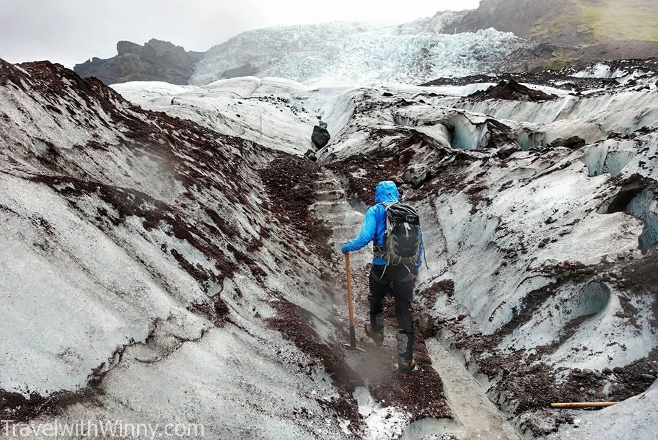 Falljökull Glacier Iceland Glacier hike