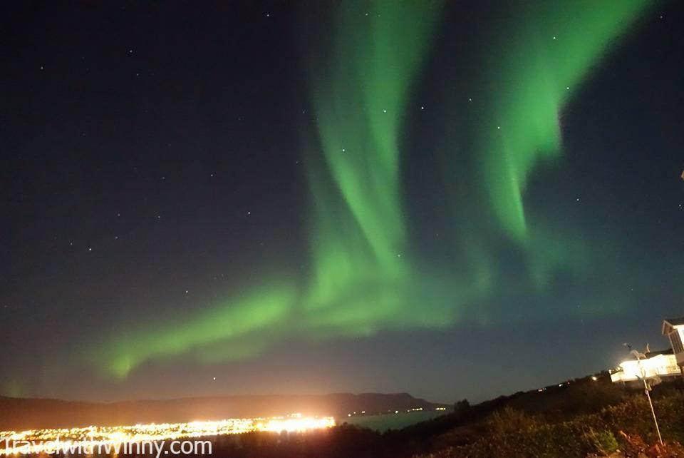 冰島 極光 iceland northern light aurora