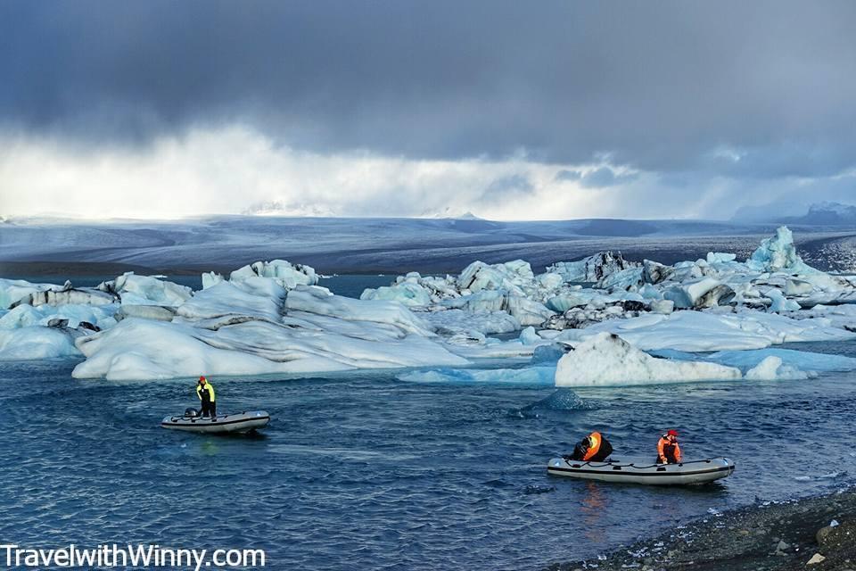 Jökulsárlón Glacier Lagoon 冰河湖