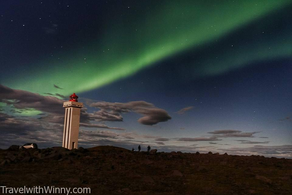 冰島 極光 iceland northern light aurora
