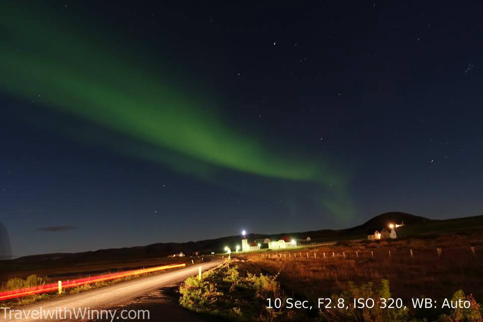 冰島 拍攝極光 iceland northern light aurora