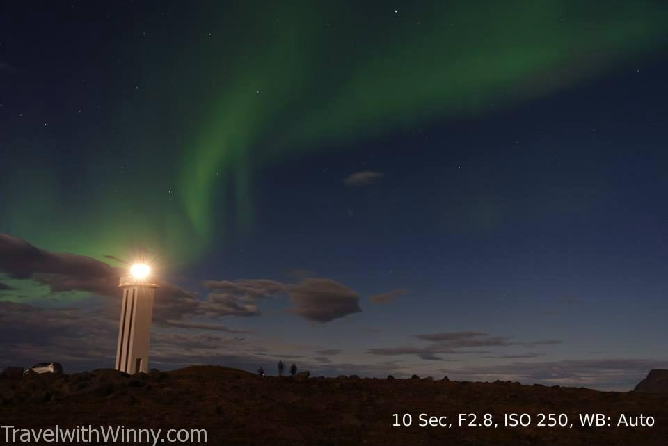 冰島 拍攝極光 iceland northern light aurora