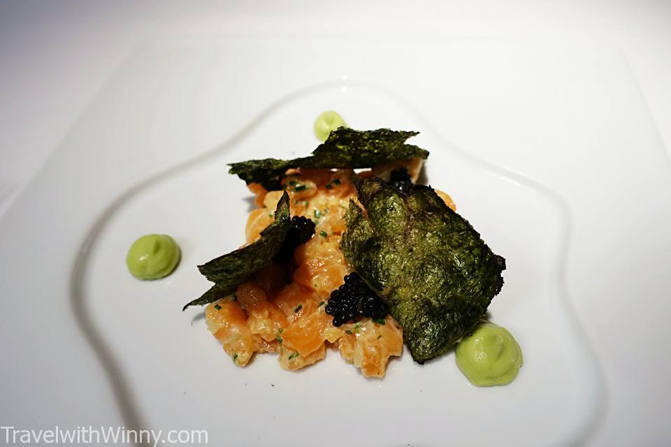 韃靼 鮭魚 salmon tartare