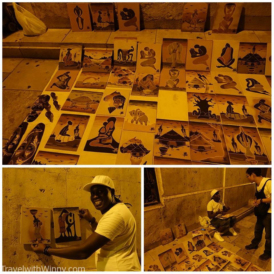 african sand art 非洲 沙畫