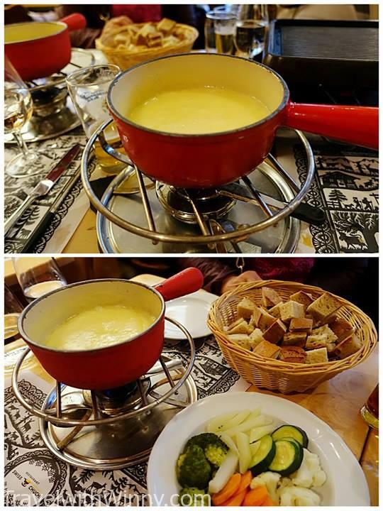 cheese fondue 起司火鍋