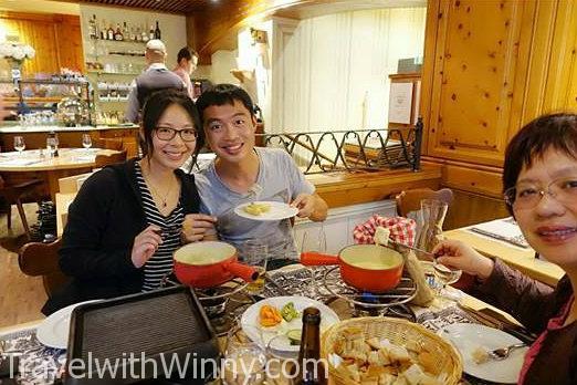 cheese fondue 起司火鍋