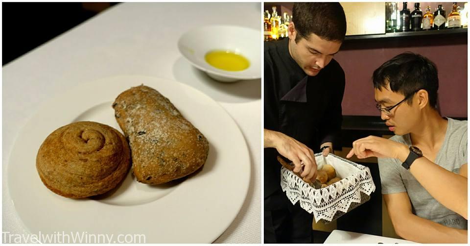 餐廳麵包 nectari 巴塞隆納米其林