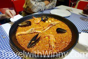 西班牙海鮮燉飯 Paella