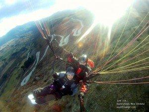 【紐西蘭】 皇后鎮 飛行傘 Paragliding 體驗記