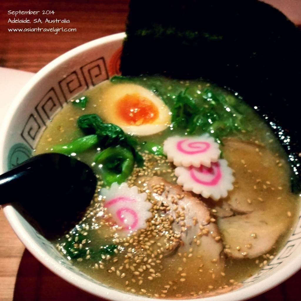 Adelaide Ramen @ Ryo's Noodles Adelaide