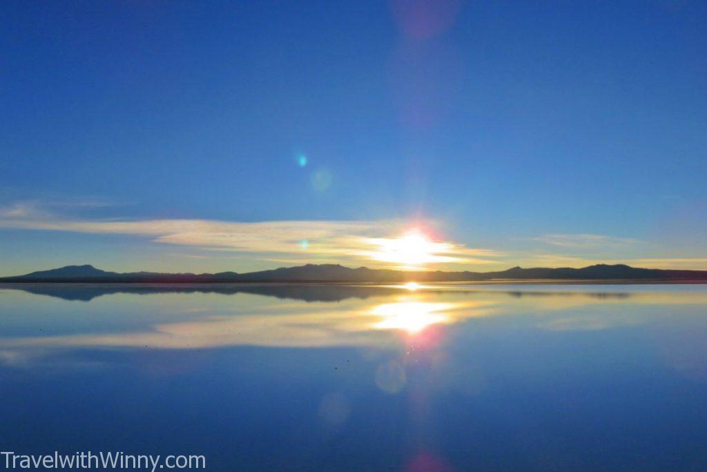 天空之鏡 uyuni reflection 玻利維亞 日出 SUNRISE
