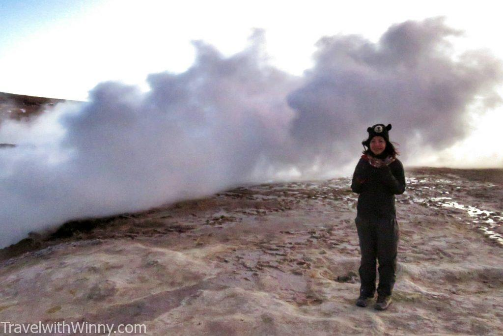 Solar de Manana Geyser Basin 間歇泉