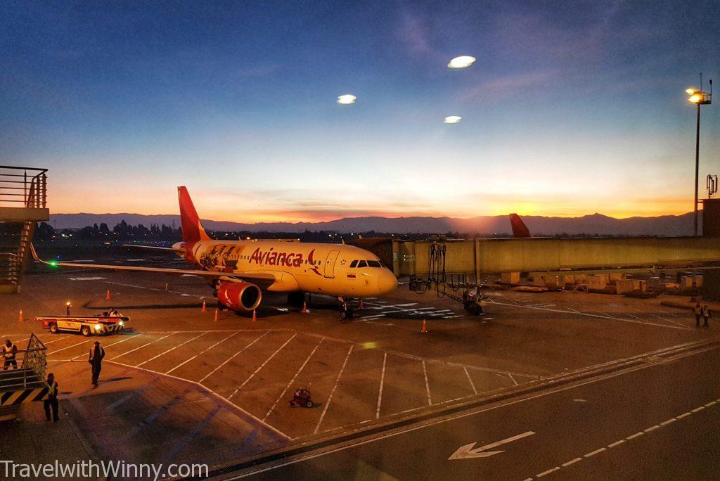 飛機 日出 plane sunrise