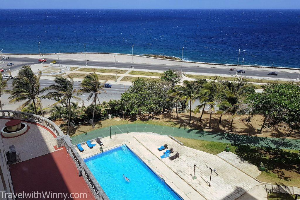 Hotel Nacional de Cuba 古巴 swimming pool 游泳池