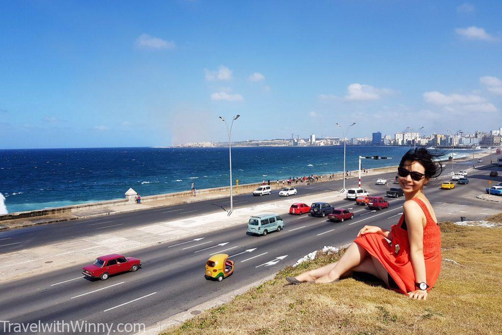 Malecon 海堤大道 古巴 cuba havana 哈瓦那