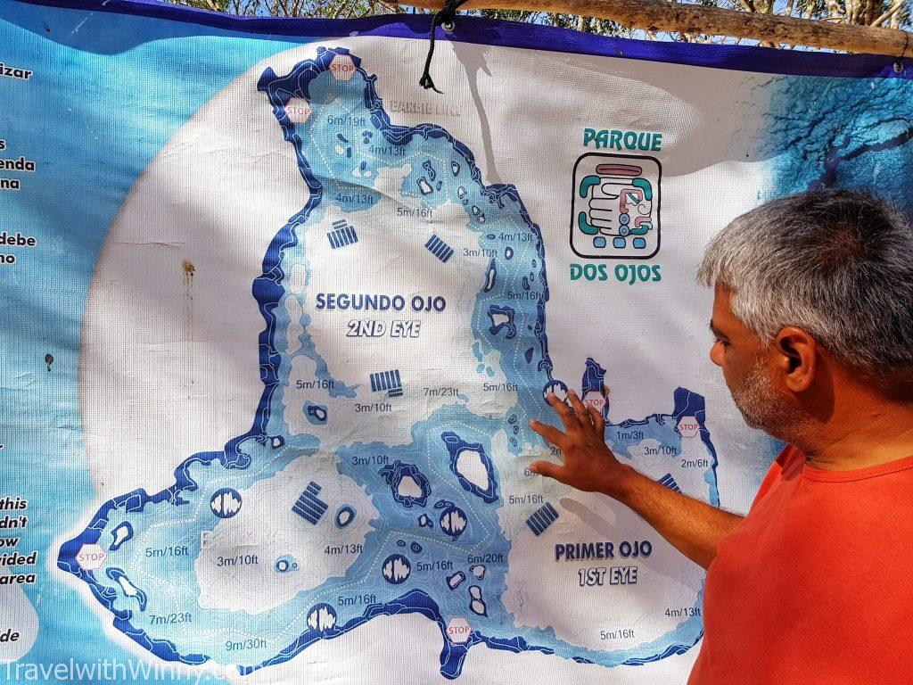 Dos Ojos Cenote 天然井