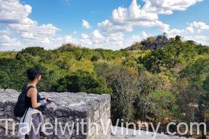 【墨西哥】馬雅叢林中的雙金字塔:世界遺產 Calakmul 卡拉克穆爾