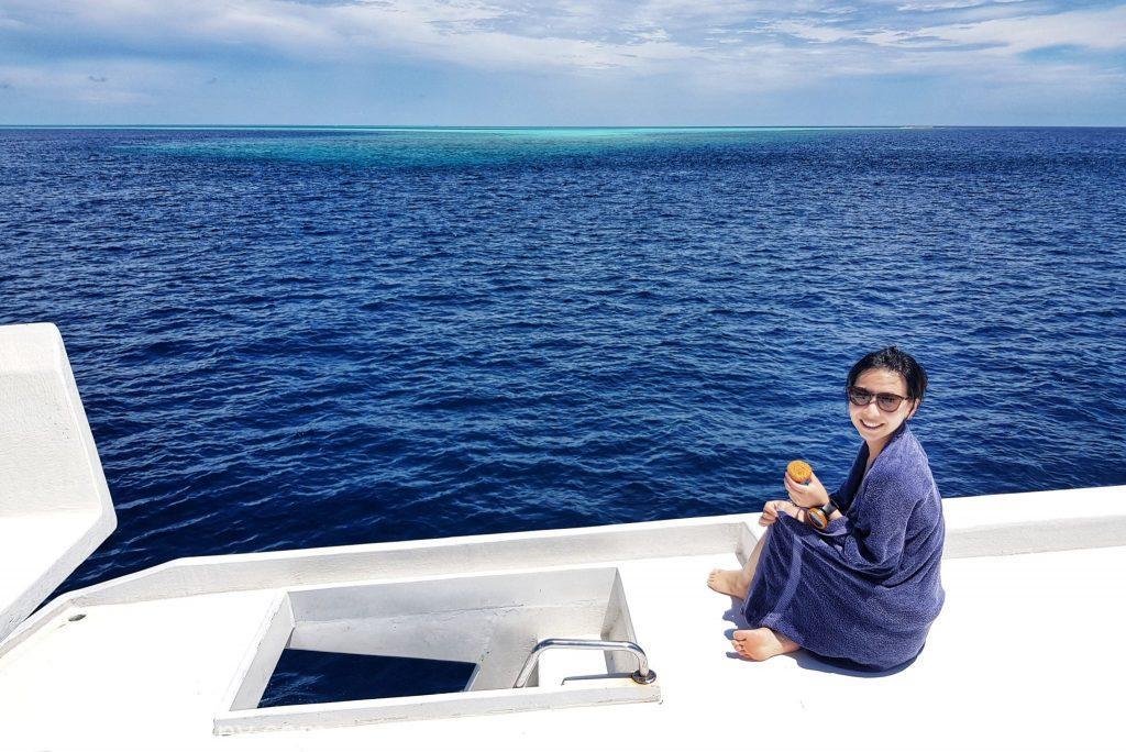 馬爾地夫潛水 DIVE BOAT 潛水船