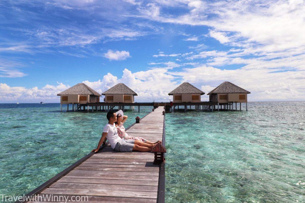 馬爾地夫 水上小屋 maldives overwater villa adaaran vadoo