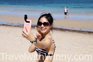 海邊自拍 beach selfie
