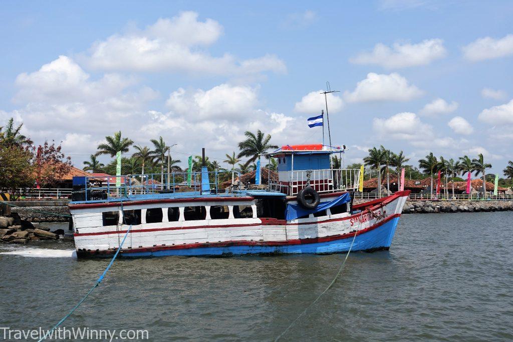 ferry 船 ometepe 奧梅特佩島