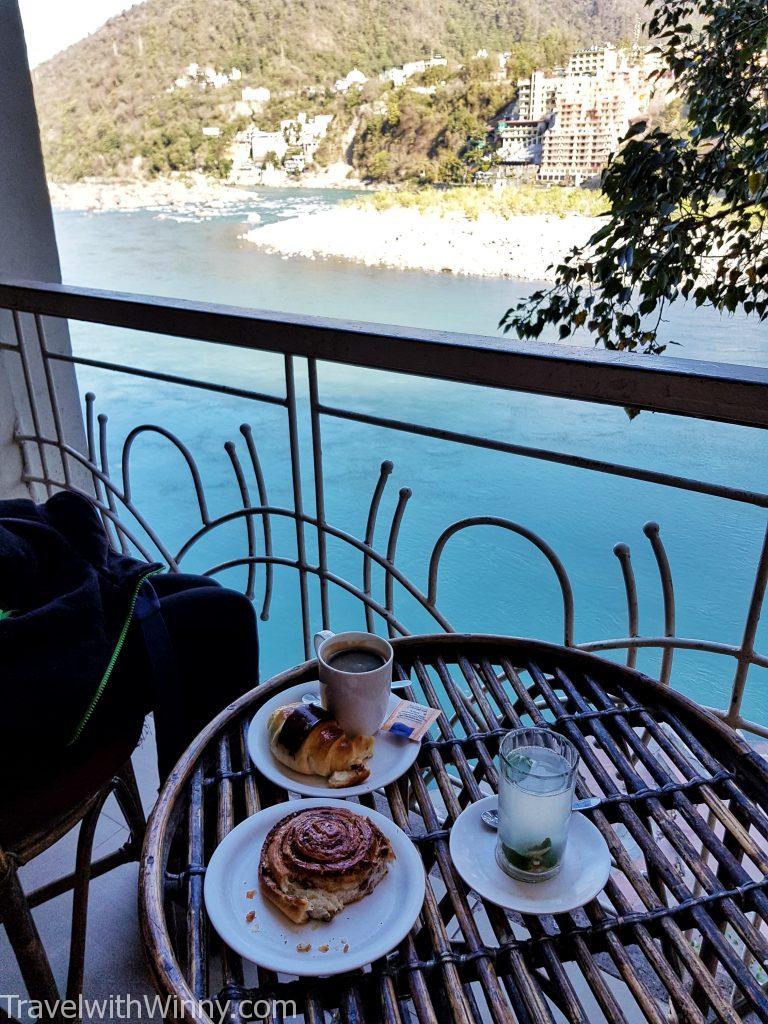 瑞詩凱詩 ganga river breakfast 恆河 早餐