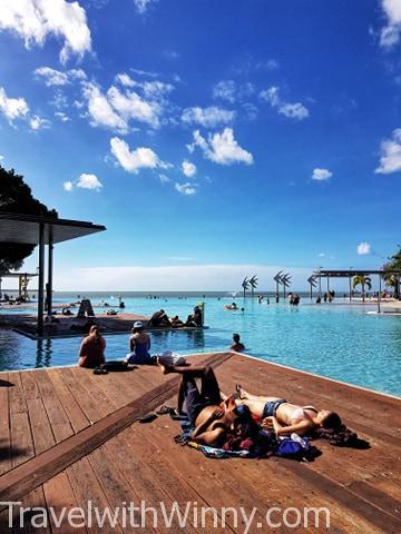 Cairns Esplanade Lagoon 凱恩斯濱海潟湖