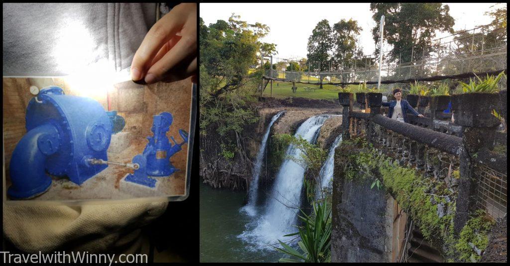 凱恩斯天空之城 帕羅尼拉公園 Paronella Park water fall 瀑布