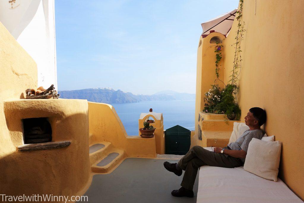 santorini 洞穴旅館 cave hotel