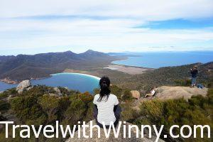 菲辛那國家公園 Freycinet National Park 的酒杯灣 Wineglass Bay