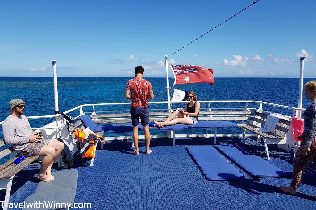 pro dive dive boat cairns 凱恩斯 潛水船