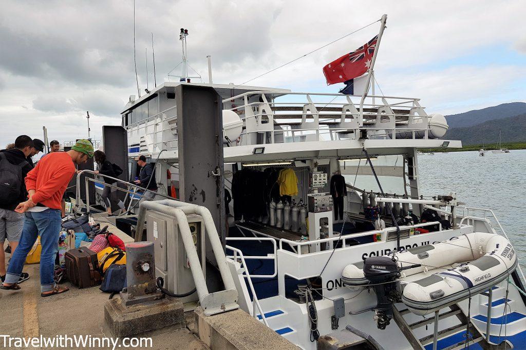 dive boat cairns 凱恩斯 潛水船