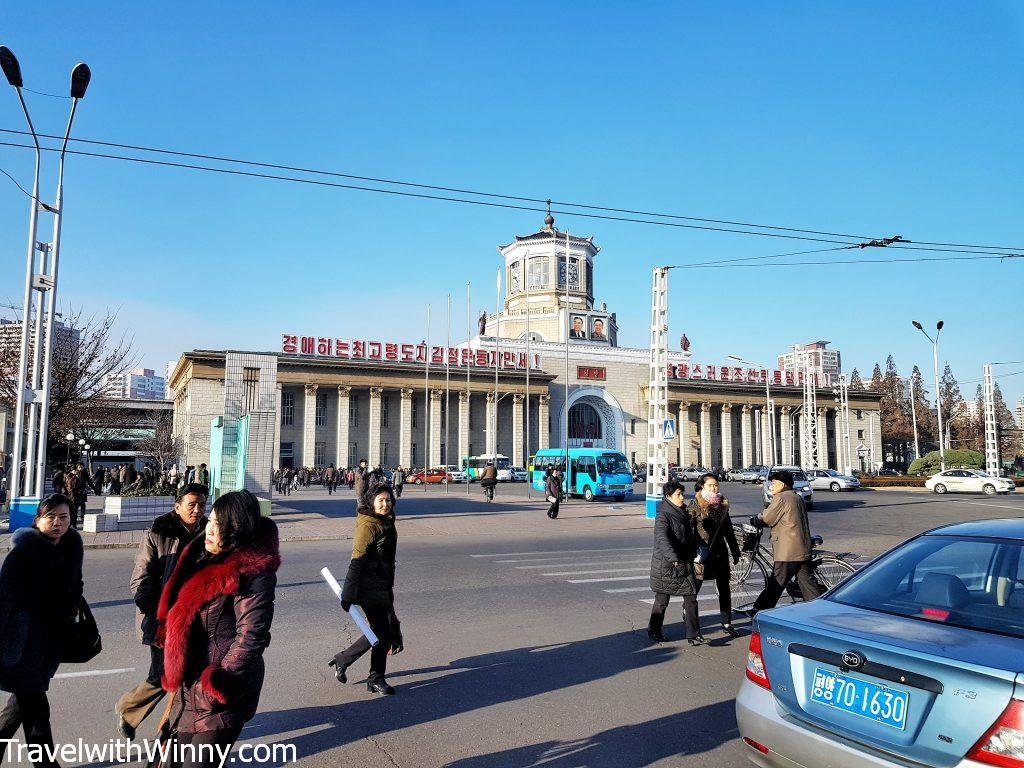 平壤火車站 Pyongyang train station