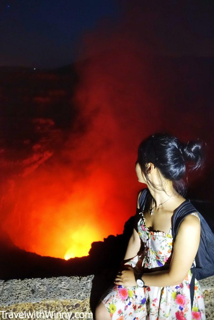 馬薩亞火山 masaya volcano backpacking in Central America