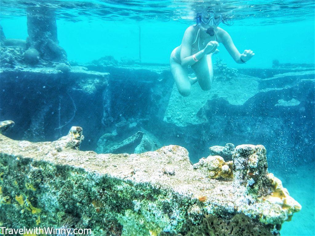 san blas diablo island snorkling