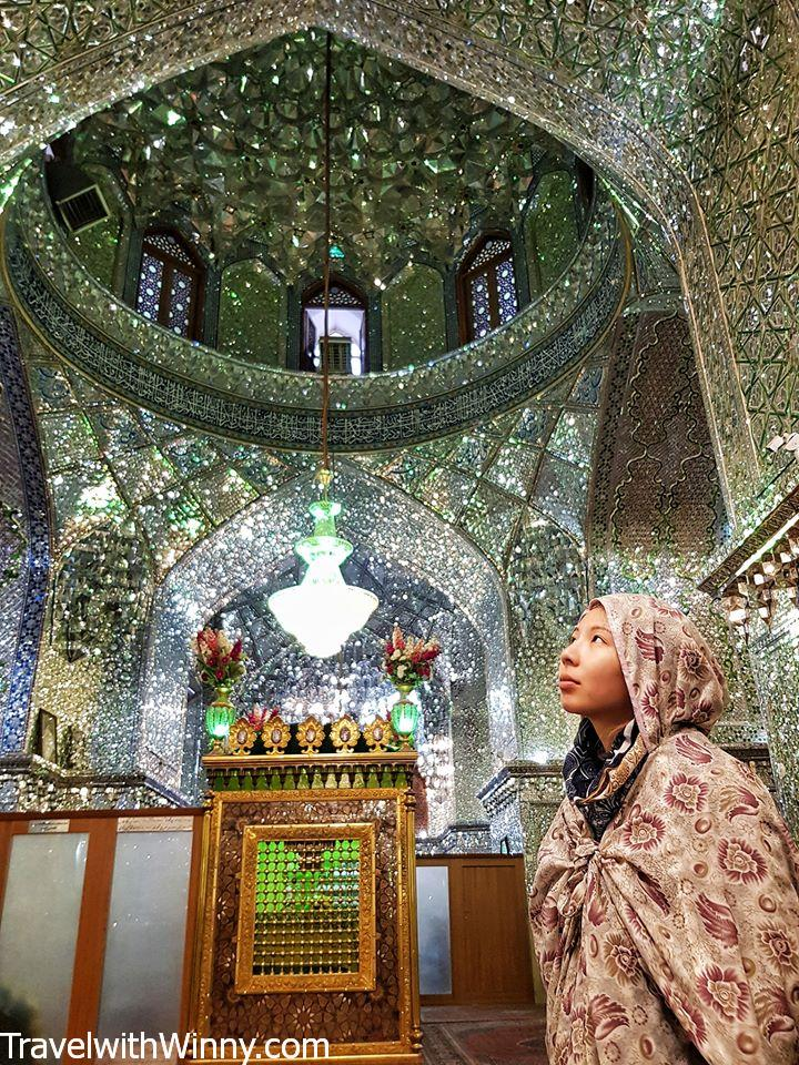 Ali Ibn Hamza Mausoleum 鏡面清真寺 mirror mosque shiraz