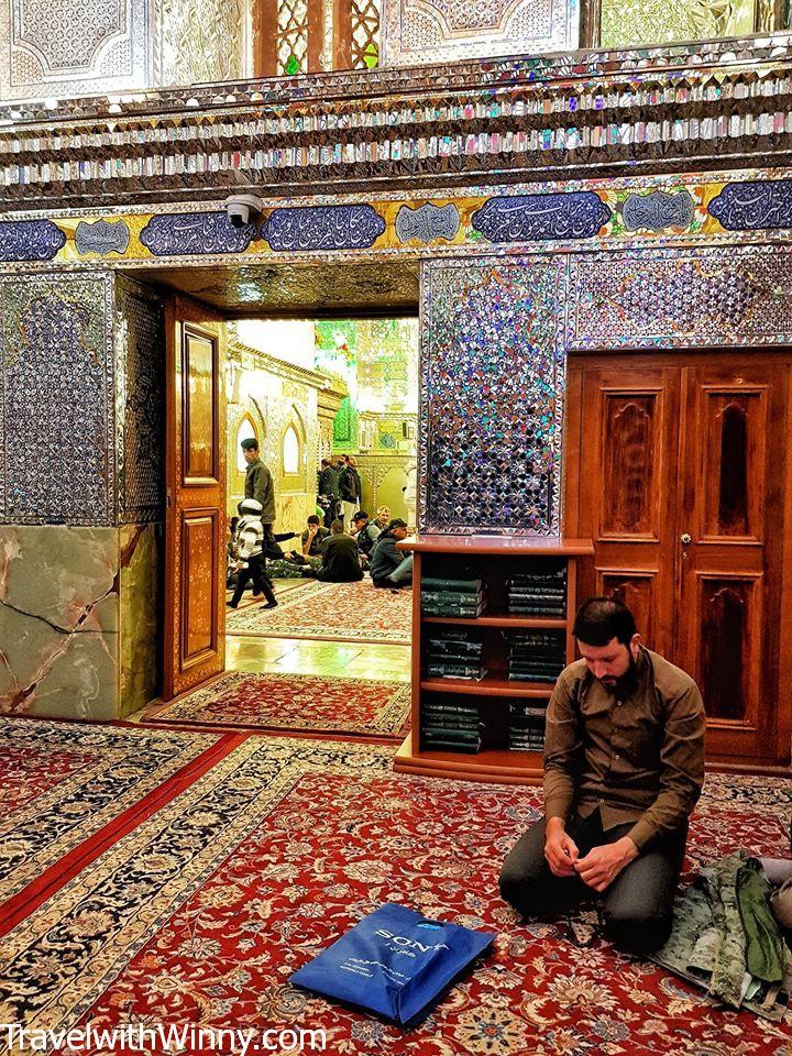 Shah Cheragh 光明王之墓 綠色清真寺 shiraz green mosque