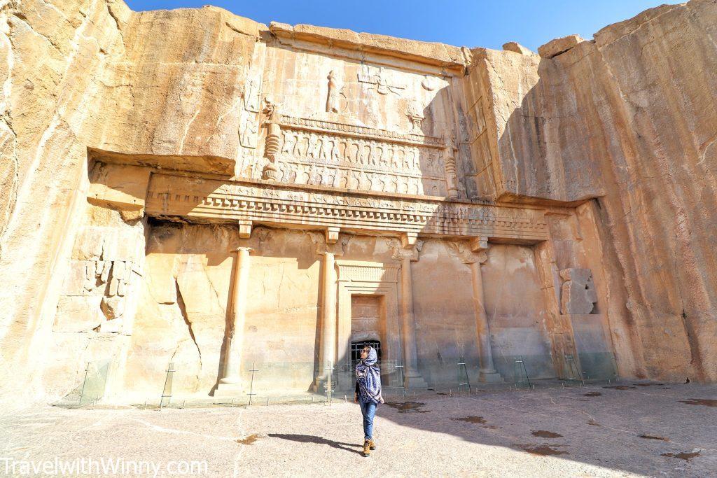 Tomb of Artaxerxes III 波斯波利斯 persepolis