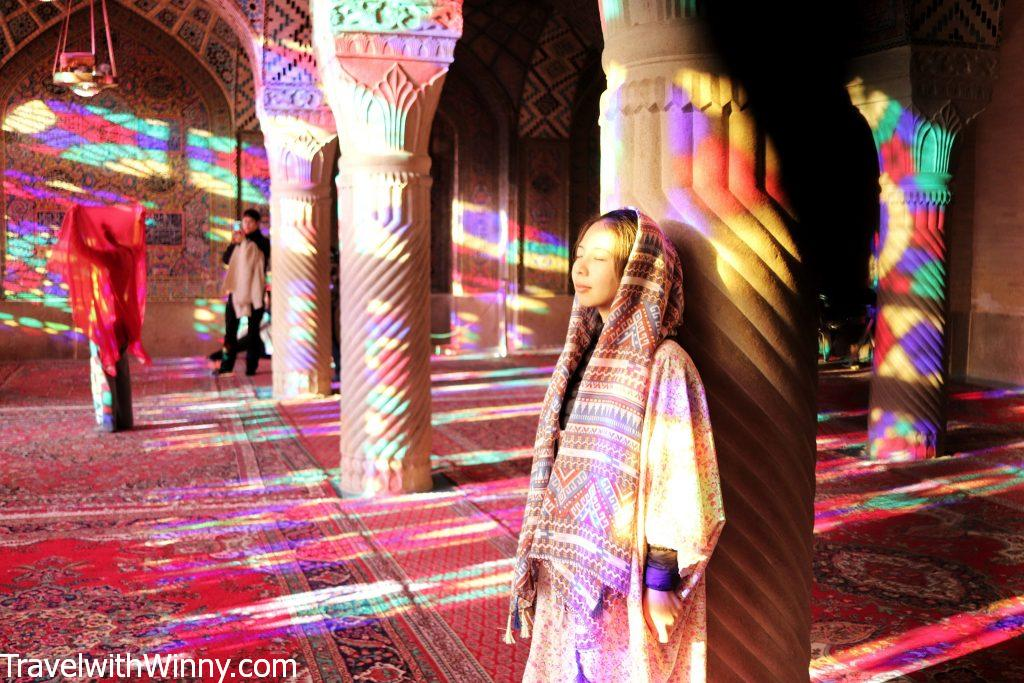 Nasir al-Mulk 粉紅清真寺 Pink mosque
