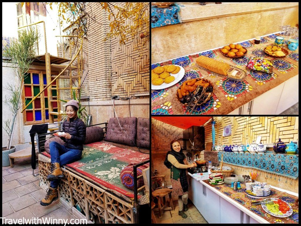 Taha Traditional Hostel shiraz 伊朗 青旅