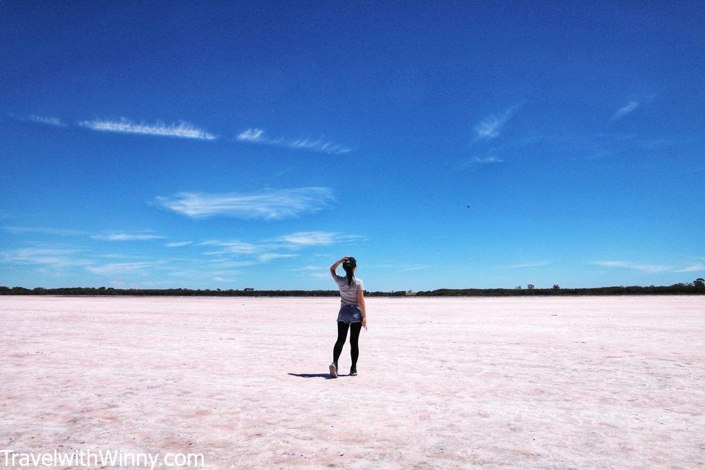 pink lake salt lake 鹽湖 粉紅湖